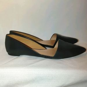 Madewell Lydia D'Orsaay Pointed Flats Leather 8
